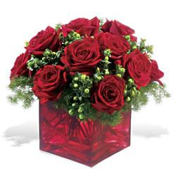 Çorum çiçekçi telefonları  9 adet kirmizi gül cam yada mika vazoda