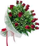 Çorum internetten çiçek siparişi  11 adet kirmizi gül buketi sade ve hos sevenler