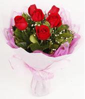9 adet kaliteli görsel kirmizi gül  Çorum çiçek satışı