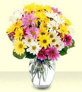 Çorum online çiçek gönderme sipariş  mevsim çiçekleri mika yada cam vazo