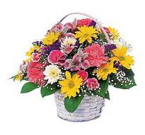 Çorum hediye çiçek yolla  mevsim çiçekleri sepeti özel