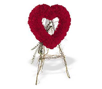Çorum internetten çiçek siparişi  karanfillerden kalp pano