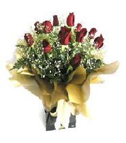 Çorum online çiçek gönderme sipariş  11 adet kirmizi gül  buketi
