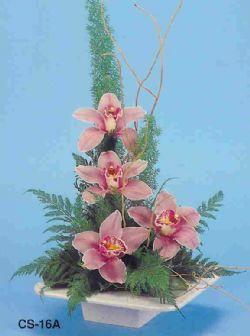 Çorum çiçek , çiçekçi , çiçekçilik  vazoda 4 adet orkide