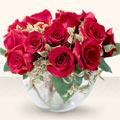Çorum çiçek mağazası , çiçekçi adresleri  mika yada cam içerisinde 10 gül - sevenler için ideal seçim -