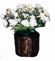 yapay karisik çiçek sepeti   Çorum uluslararası çiçek gönderme