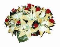 yapay karisik çiçek sepeti   Çorum online çiçek gönderme sipariş