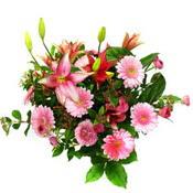lilyum ve gerbera çiçekleri - çiçek seçimi -  Çorum çiçek satışı
