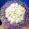 71 adet beyaz gül buketi   Çorum hediye çiçek yolla