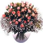 büyük cam fanusta güller   Çorum çiçekçi telefonları