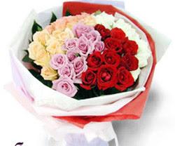 SEVENLERE ÖZEL 51 ADET GÜL  Çorum internetten çiçek siparişi
