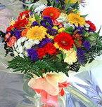 Çorum çiçek siparişi sitesi  karma büyük ve gösterisli mevsim demeti