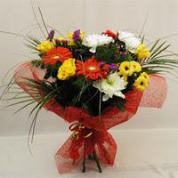 Çorum çiçek siparişi sitesi  Karisik mevsim demeti