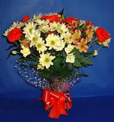 Çorum çiçek siparişi sitesi  kir çiçekleri buketi mevsim demeti halinde