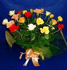 Çorum çiçek siparişi sitesi  13 adet karisik renkli güller