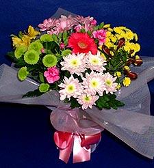 Çorum çiçek siparişi sitesi  küçük karisik mevsim demeti