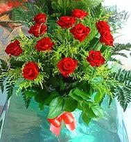 12 adet gül buketi  Çorum çiçek online çiçek siparişi
