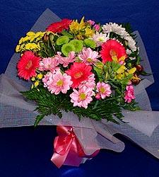 karisik sade mevsim demetligi   Çorum hediye sevgilime hediye çiçek