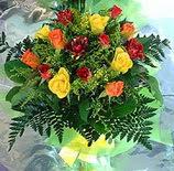 13 adet karisik gül buketi demeti   Çorum anneler günü çiçek yolla
