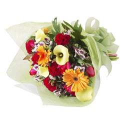 karisik mevsim buketi   Çorum İnternetten çiçek siparişi