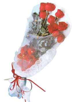 11 adet kirmizi güller buket tanzimi   Çorum çiçekçiler