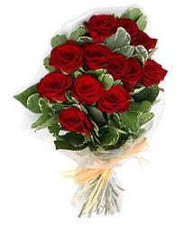 Çorum çiçek gönderme sitemiz güvenlidir  9 lu kirmizi gül buketi.