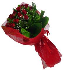 Çorum çiçek gönderme  10 adet kirmizi gül demeti