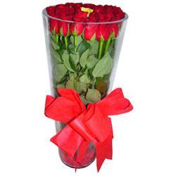 Çorum çiçek mağazası , çiçekçi adresleri  12 adet kirmizi gül cam yada mika vazo tanzim