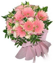 Çorum 14 şubat sevgililer günü çiçek  Karisik mevsim çiçeklerinden demet