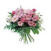 karisik kir çiçek demeti  Çorum ucuz çiçek gönder