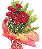11 adet kaliteli görsel kirmizi gül  Çorum ucuz çiçek gönder