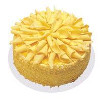 Muzlu pasta 4 ile 6 kisilik yas pasta  Çorum çiçek , çiçekçi , çiçekçilik
