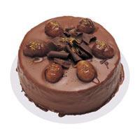 Kestaneli çikolatali yas pasta  Çorum hediye çiçek yolla