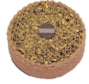 Krokanli 4 ile 6 kisilik yas pasta leziz  Çorum çiçek satışı
