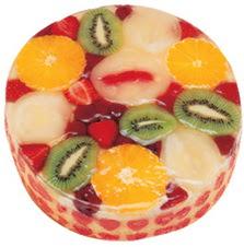 Meyvali 4 ile 6 kisilik yas pasta leziz  Çorum çiçek siparişi sitesi