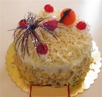 pasta siparisi 4 ile 6 kisilik yaspasta mis lezzette  Çorum çiçek , çiçekçi , çiçekçilik