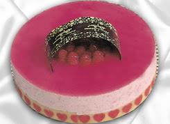 pasta siparisi 4 ile 6 kisilik yas pasta framboaz yaspasta  Çorum online çiçekçi , çiçek siparişi