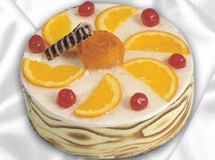 lezzetli pasta satisi 4 ile 6 kisilik yas pasta portakalli pasta  Çorum internetten çiçek satışı