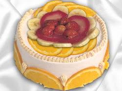 leziz pastane 4 ile 6 kisilik yas pasta meyvali yaspasta  Çorum yurtiçi ve yurtdışı çiçek siparişi
