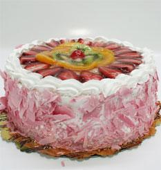 görsel pastacilar 4 ile 6 kisilik yas pasta karisik meyvali  Çorum çiçek mağazası , çiçekçi adresleri