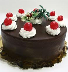 4 ile 6 kisilik yas pasta çikolatali taze pastaci  Çorum çiçek online çiçek siparişi