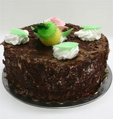 4 ile 6 kisilik yas pasta çikolatali leziz pastane ürünü  Çorum 14 şubat sevgililer günü çiçek