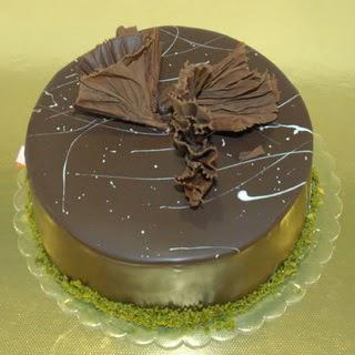 pastaci ustamizdan 4 ile 6 kisilik fistikli çikolatali yaspasta  Çorum kaliteli taze ve ucuz çiçekler