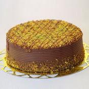 sanatsal pastaci 4 ile 6 kisilik krokan çikolatali yas pasta  Çorum uluslararası çiçek gönderme