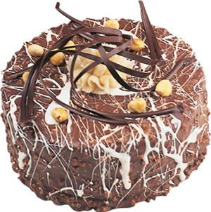 pasta satisi 4 ile 6 kisilik çikolatali yas pasta  Çorum çiçek yolla
