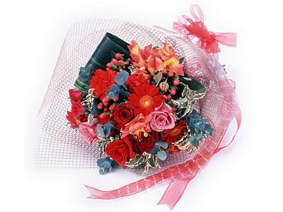 Karisik buket çiçek modeli sevilenlere  Çorum anneler günü çiçek yolla