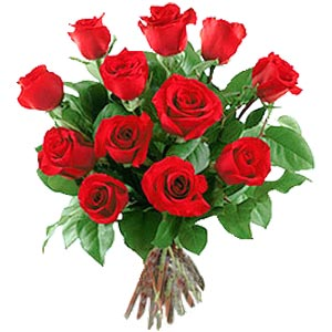 11 adet bakara kirmizi gül buketi  Çorum online çiçekçi , çiçek siparişi