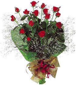11 adet kirmizi gül buketi özel hediyelik  Çorum internetten çiçek satışı