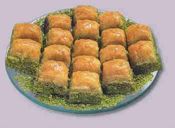 pasta tatli satisi essiz lezzette 1 kilo fistikli baklava  Çorum online çiçek gönderme sipariş