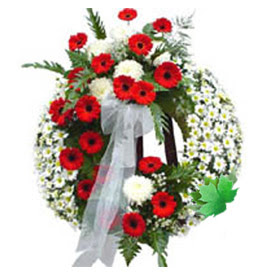 Cenaze çelengi cenaze çiçek modeli  Çorum anneler günü çiçek yolla
